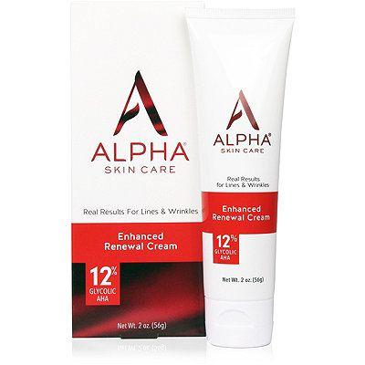 Alpha Skin Care Enhanced Renewal Cream Ulta Beauty Anti Aging Formula Fragrance Free Products Renew Skin