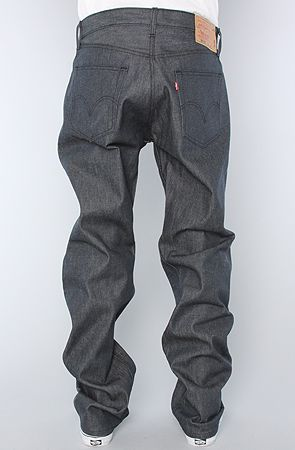 1193e8d0 The 501 Jeans in Dark Grey Rigid STF by Levis
