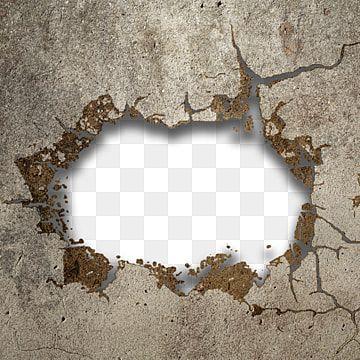 Romper La Pared De Concreto Pared Rotura Efecto Png Y Psd Para Descargar Gratis Pngtree Wall Clock Logo Brick Wall Background Islamic Wall Art