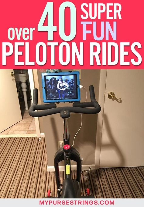 Here are over 40 of the most popular Peloton rides that you definitely want to try out! Peloton rides can make working out a lot more fun - so definitely take advantage of everything Peloton app has to offer! Cycling Motivation, Cycling Quotes, Body Motivation, Indoor Cycling, Cycling Art, Cycling Tips, Road Cycling, Peloton Bike, Training