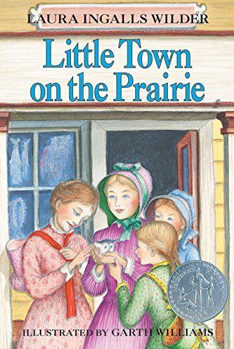 Little Town on the Prairie (Little House) by Laura Ingalls Wilder http://www.amazon.com/dp/0064400077/ref=cm_sw_r_pi_dp_uWVnwb0NEXB7A