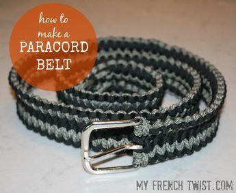 Paracord Belt | Paracord belt, Paracord, Belt
