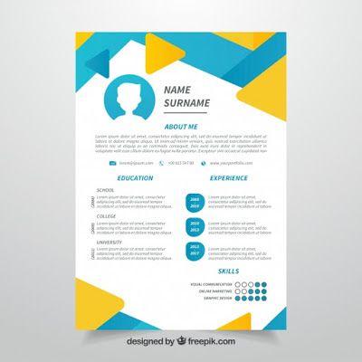 12 Desain Template Resume Cv Unik Dan Kreatif Gratis Portal Mahasiswa Indonesia Desain Cv Desain Kreatif