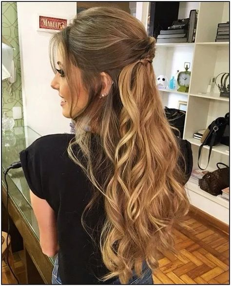 128 fabulous long wedding hairstyles to copy right now page 11 | homedable.com