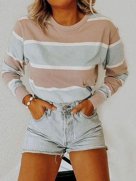 Denim Short   Casual Outfit Ideas   Summer