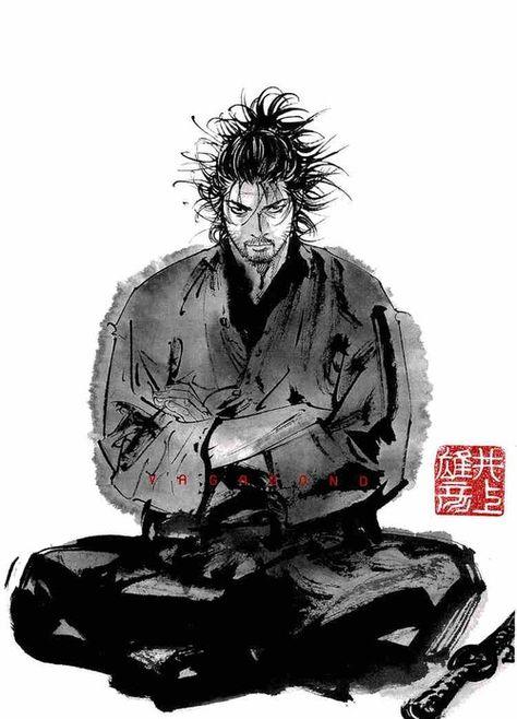 Illustration | 宮本武蔵 / Vagabond バガボンド - 宮本武蔵 | Inoue Takehiko     #InoueTakehiko #井上雄彦