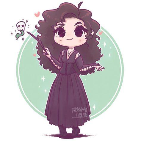 ✨💚 Chibi Bellatrix Lestrange 💀💚✨ who wants a little death eater series? :3 • #bellatrix #bellatrixlestrange #bella #lestrange #deatheater…