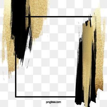 Olpinsel Textur Dekorative Elemente Pinseleffekt Luxurios Schattierung Burste Png Und Psd Datei Zum Kostenlosen Download Brush Background Poster Background Design Gold Clipart