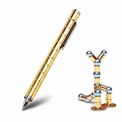 Magnetic Metal Fidget Pen Pen Finger Anti-Stress Relief Toy For XMAS GIFT