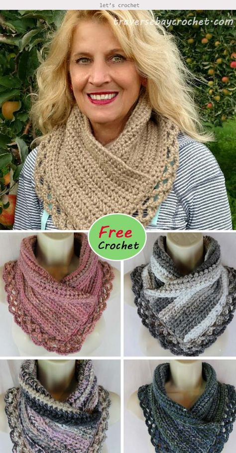 Good Absolutely Free Crochet cowl pattern free Tips Crochet Lacey Charma Neck Warmer Free Pattern Crochet Cowl Free Pattern, Crochet Poncho, Crochet Scarves, Crochet Clothes, Crochet Hooks, Free Crochet, Crochet Patterns, Crocheted Scarves Free Patterns, Chunky Crochet Scarf
