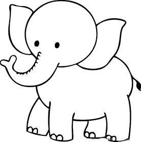 Riscos De Elefantinhos Elephants Elefantes Desenho Paginas