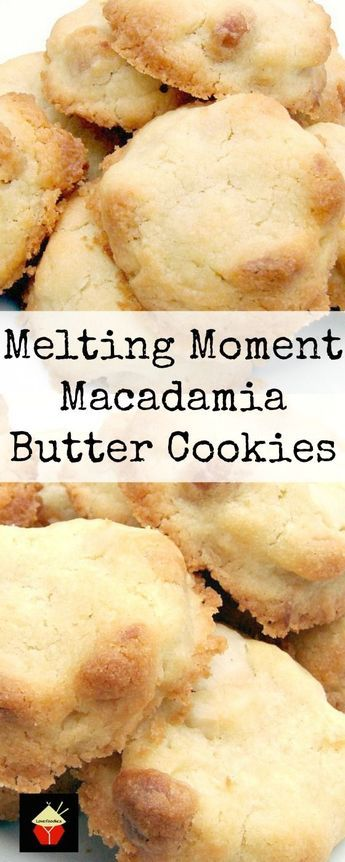 Melting Moment Macadamia Butter Cookies These Little