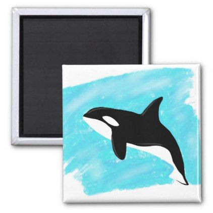 Lonely whale recycled card