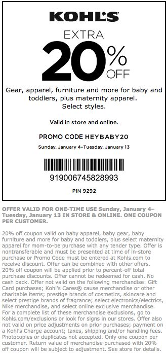 Kohls Coupons - August 2017 Coupon Codes \ Printable Coupons - coupon sheet template