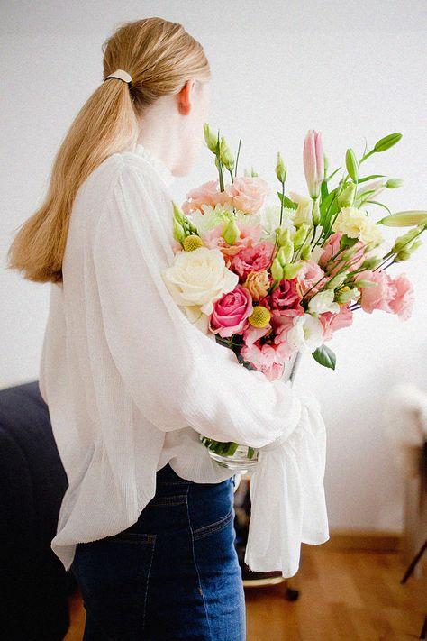 Make Your Day Bloomier Looks Make It Yourself Flower Boquet Und