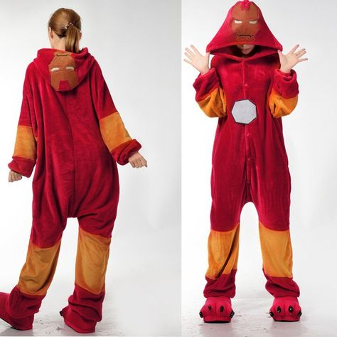 speical offer promo code info for Iron Man Animal Onesies Pajamas For Adult Cute Women's One ...