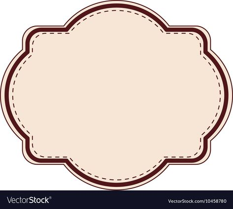 elegant frame decoration isolated vector illustration design. Download a Free Preview or High Quality Adobe Illustrator Ai, EPS, PDF and High Resolution JPEG versions.