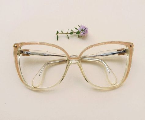 Silhouette Vintage Brille 80er Jahre Nos Ubergrosse Designer