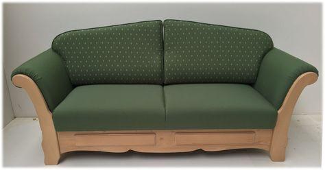 Ohrenbacken Sofa sofa liege achensee mit bettfunktion kundl grün landhausmöbel