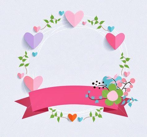 32 Ideas Design Logo Olshop Kosong Boarder Designs Ornament Frame Flower Frame