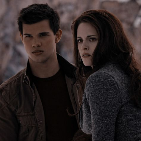 jacob and bella from twilight [icon]