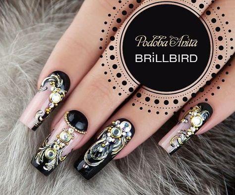 unghie #brillbird #nail #nails...