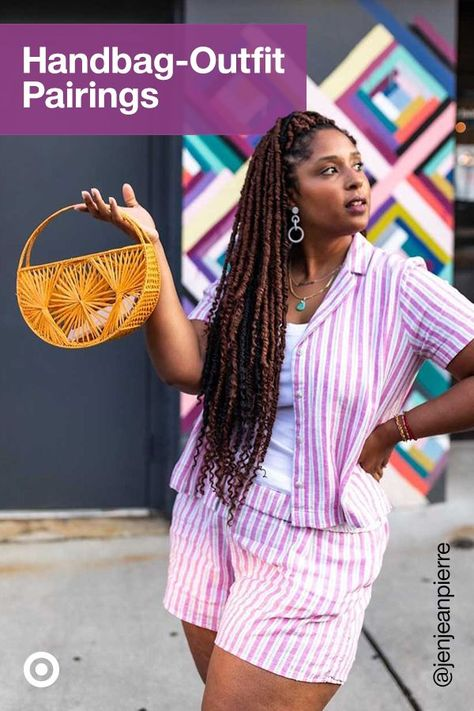 Finish off your summer outfits with a matching handbag. From a casual shoulder bag to a statement woven tote, find purses  handbags for every style.