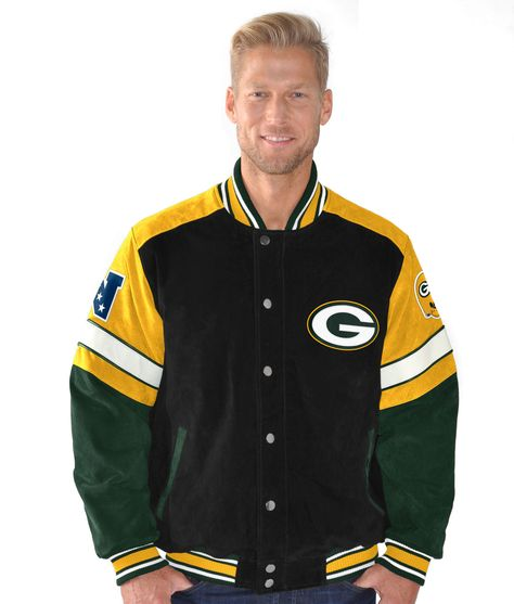 5f6dbc3e Green Bay Packers First Down Men's Varsity Jacket | Men's Packers ...