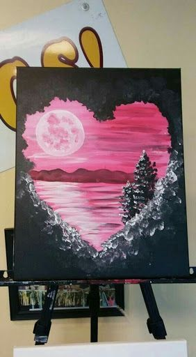 Easy Acrylic Painting Ideas For Beginners On Canvas Google Search Acrylic Beginners Canvas Cute Canvas Paintings Painting Art Projects Canvas Painting Diy