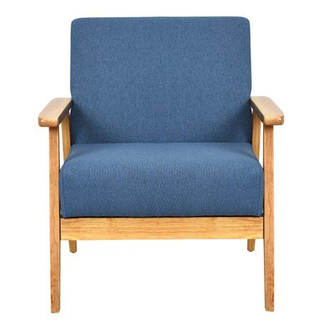 Modern Fabric Upholstered Accent Chair Low Lounge Armchair Solid Wood Frame Pink Walmart Canada Upholstered Accent Chairs Lounge Armchair Upholstered Arm Chair
