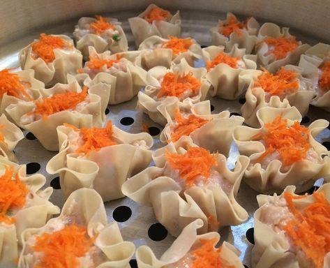 Cara Membuat Dimsum Ayam Nikmat Resep Resep Masakan Cina Ide Makanan Resep Makanan Cina