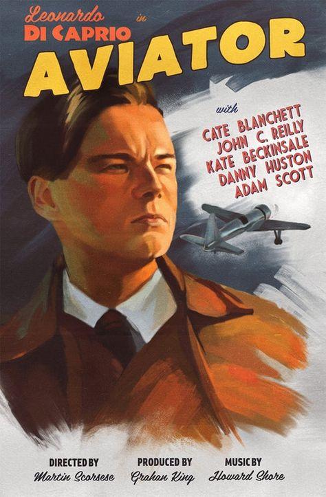 The Aviator (2004) [1191 x 1818] : MoviePosterPorn