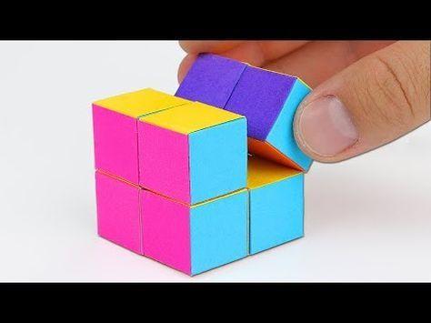 Origami Action Origami Double Star Flexicube David Brill
