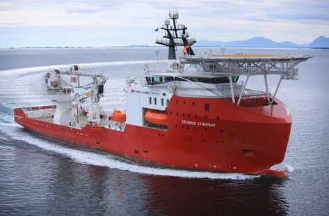 Seabed Stingray Imr Construction Survey Vessel Swire Seabed