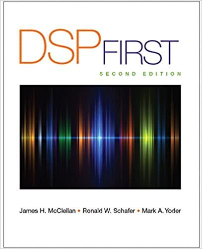 Dsp First 2nd Edition By James H Mcclellan In 2021 Ebook Pdf Ebook Math Textbook