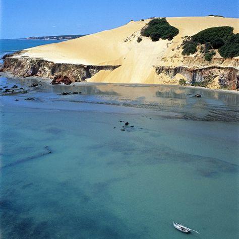 Praia da Canoa Quebrada-Ceará-Brasil
