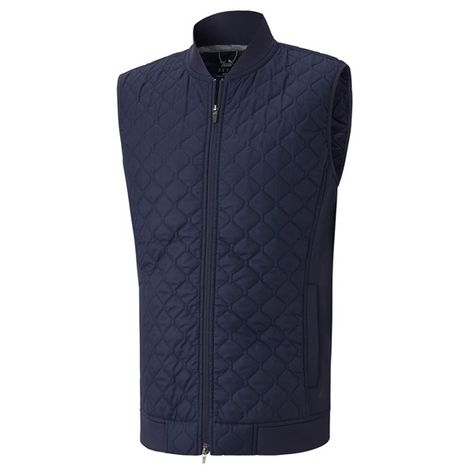 Puma Mens Primaloft Vest - PRIMALOFT quilting provides the best highest weight to warmth ratio in the industry. Combining water resistant down quilting and an unrivaled style, this vest will stand up to any forecast.SPECIFICATIONS 100% Nylon Taffeta PRIMALOFT Circular knit UV Resistant Cat Logo Left Hip