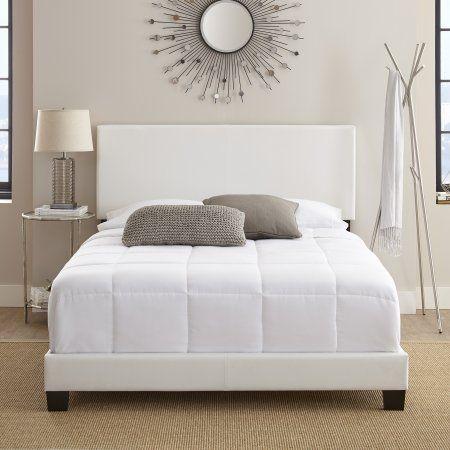 Home Platform Bed Frame Leather Platform Bed Bed Frame
