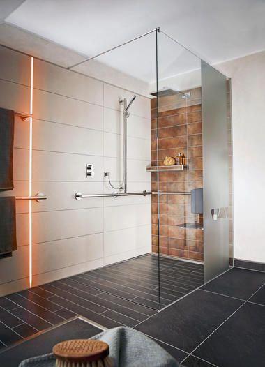 Barrierefreie Bodengleiche Ebenerdige Dusche Bathtubmodern