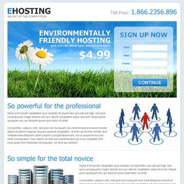 Effective Landing Page Design For Web Hosting Landing Page Design Page Design Landing Page