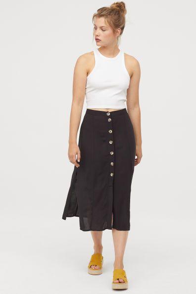 vendite calde e2a4d 00da1 Gonna con bottoni Modal | Outfit Ideas - 2019 in 2019 ...