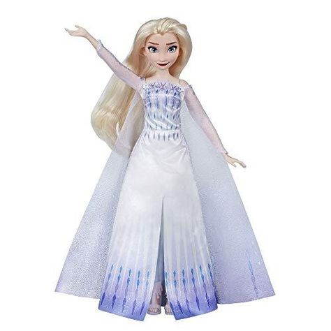 Disney Frozen Musical Adventure Elsa Singing Doll, Sings Show Yourself Song from Disney's Frozen 2 Movie, Elsa Toy for Kids - Default