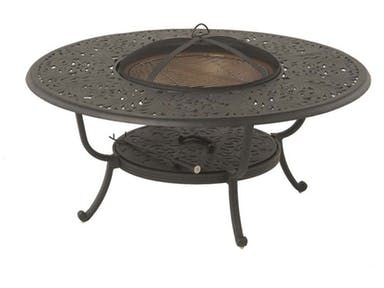 Chateau 48 Round Wood Fire Pit Table By Hanamint 020012 Round Fire Pit Table Fire Pit Table Wood Fire Pit