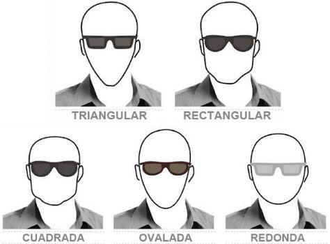 Cara Triangular Hombre