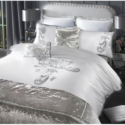 Valeria Duvet Cover Byca Bedroom, Designer Bedding Sets Grey