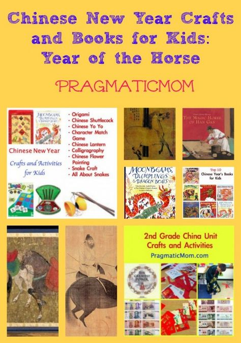 Chinese New Year: The Year of the Horse crafts and children's books :: PragmaticMom