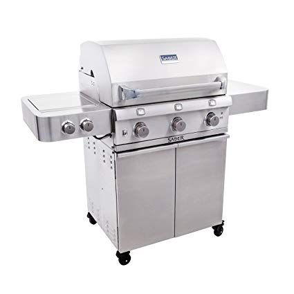 Saber R50sc0017 3 Burner Grill Stainless Steel Review Infrared Grills Gas And Charcoal Grill Grilling