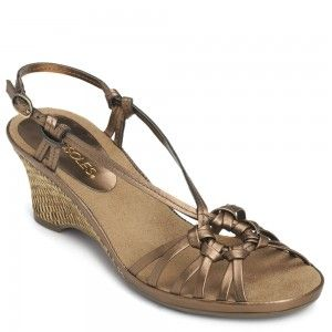 accc1272e78f Aerosoles Frozen Yogurt Bronze Leather