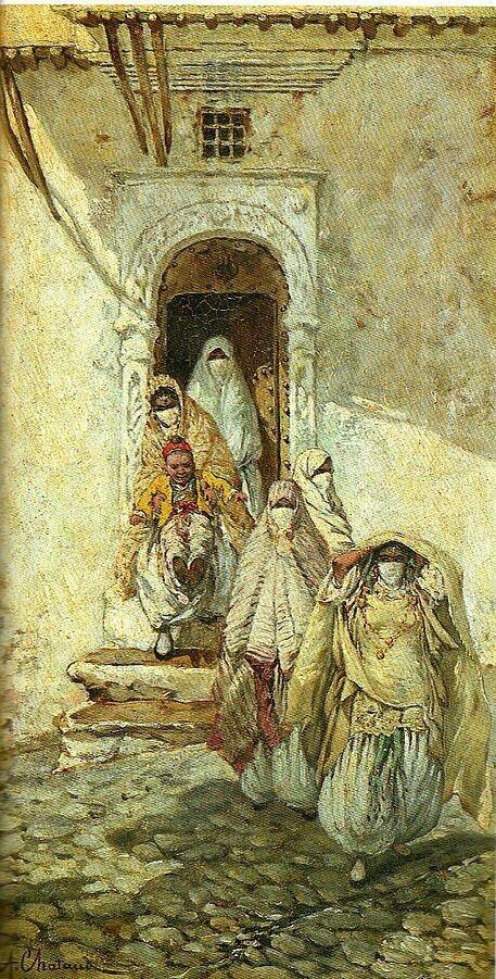 Tableaux De Maitres Sur L Algerie Peintures Sur Toile Gouaches