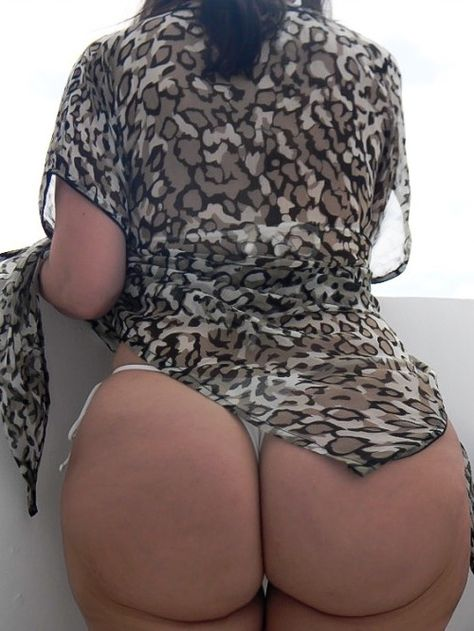 Wearing curvy panties girl